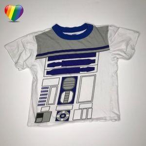 Star Wars R2-D2 White Graphic Tee Shirt A010466